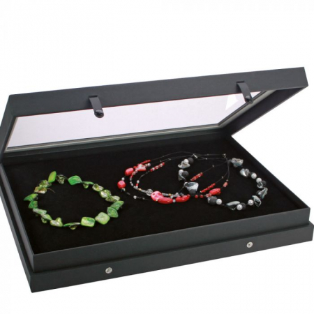 "Vitrina pentru bijuterii premium ""Black Edition""0"
