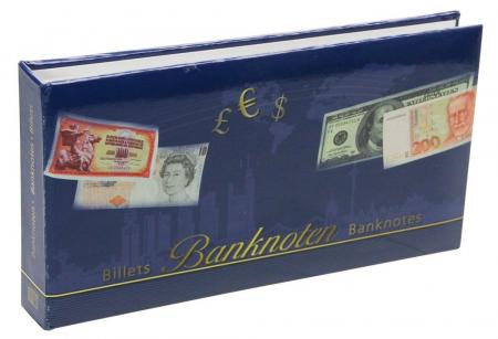 Album pentru bancnote, coperta laminata, pentru bancnote - Compact-safe6009 [0]
