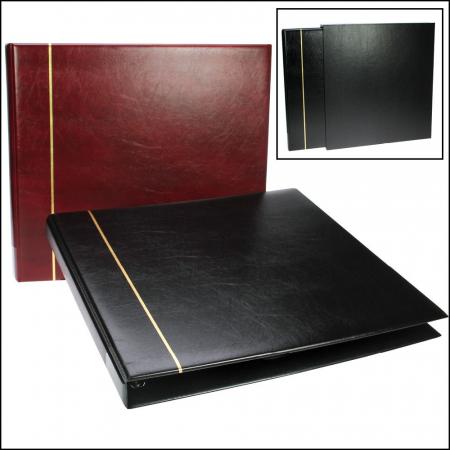 Album de carti postale cu 8 folii albe - Standard Negru [0]