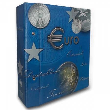 Album TOPset pentru monede 2 Euro 2004-20130