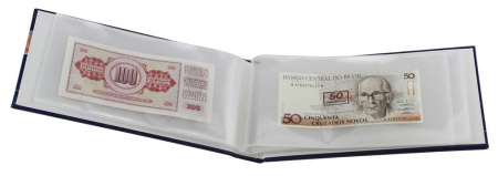 Album pentru bancnote, coperta laminata, pentru bancnote - Compact-safe6009 [1]