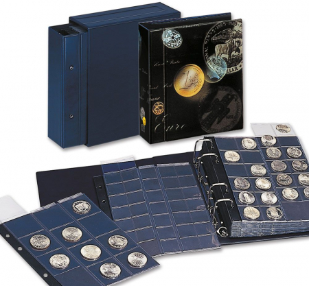 Album pentru monede coperta captusita - Artline Compact-7811 [5]