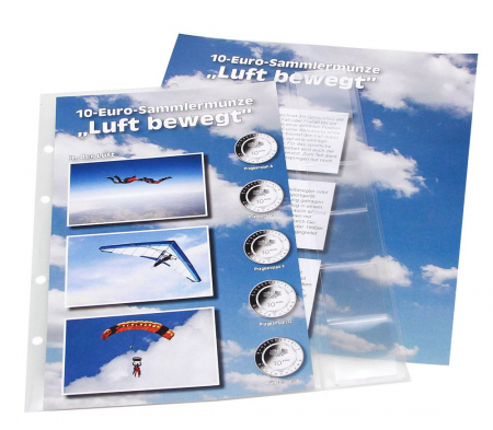 Album Premium pentru monede de 10 euro Bundesrepublik Deutschland - Air Moves-7416 [3]