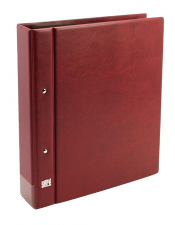 Clasor, Album, Coperta cu inele si etui, Burgundy - Compact A4-safe467 [3]