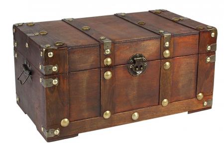 Cufar din lemn pentru bijuterii ai alte obiecte - Vintage-3147 [0]