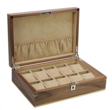 Cutie din lemn Aalborg pentru 10 ceasuri de mana-3021 [0]