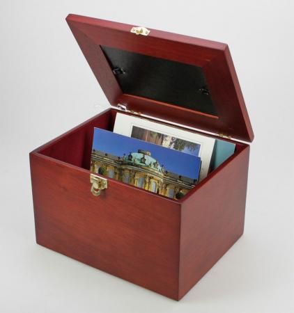 Cutie din lemn pentru fotografii, carti postale, scrisori-5870 [3]