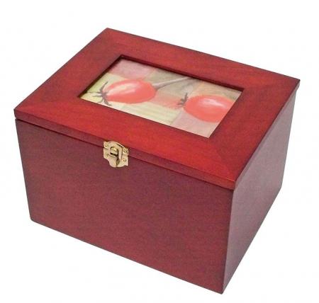 Cutie din lemn pentru fotografii, carti postale, scrisori-5870 [0]