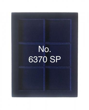 Cutie din piele cu 6 locasuri de 70 x 62mm monede - NOVA deLuxe1