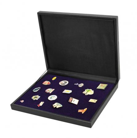 Cutie din piele pentru pini, insigne, medalii - NOVA deLuxe1