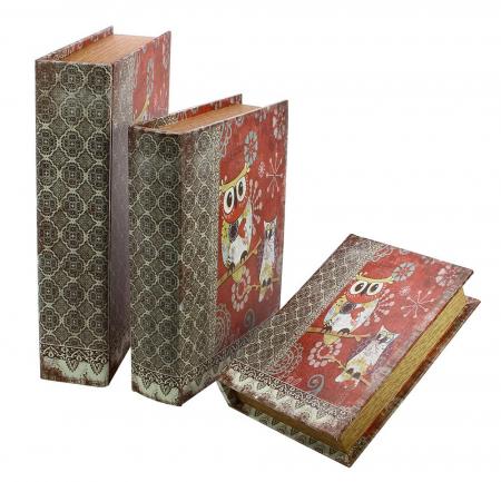 Cutie lemn tip carte, pentru bijuterii - Mini-3146 [0]