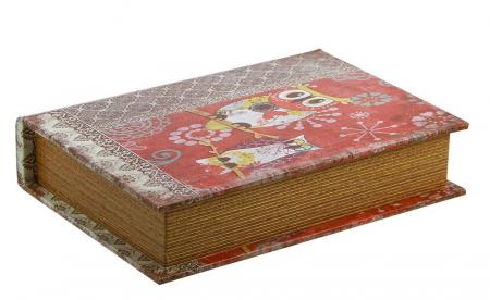 Cutie lemn tip carte, pentru bijuterii - Mini-3146 [1]