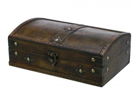 Cutie mica din lemn pentru bijuterii-3154 [0]