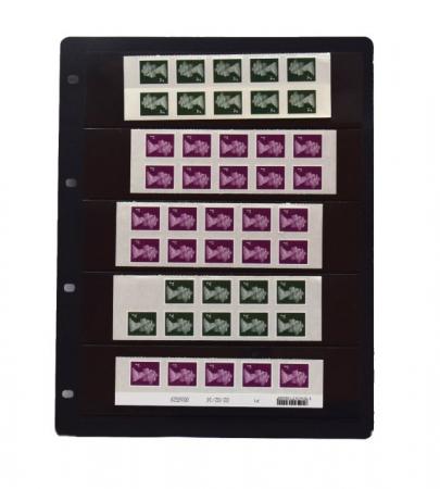 """Foaie pentru timbre cu 5 buzunare """"Clipfix"""" - 1 buc [1]"""