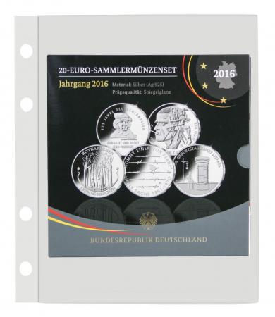 "Folie transparenta cu un buzunar 180 x 232 mm ""Compact"" [0]"