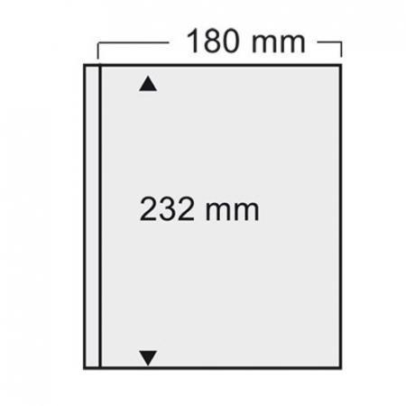"Folie transparenta cu un buzunar 180 x 232 mm ""Compact"" [1]"
