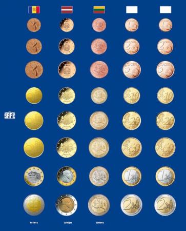 Foaie preimprimata pentru monede - 5 buc [0]