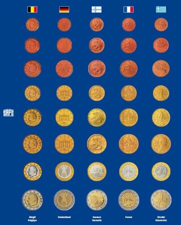 Foaie preimprimata pentru monede - 5 buc [3]