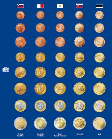 Foaie preimprimata pentru monede - 5 buc [2]