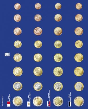Pagini pentru seturi de monede euro in capsule - 6 buc1
