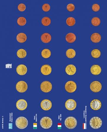 Pagini pentru seturi de monede euro in capsule - 6 buc2