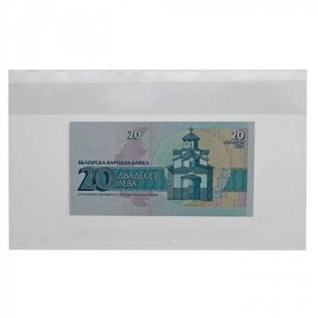 10 posete transparente pentru bancnote de 270 x 157 mm-1290 [0]