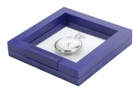 Rama albastra cu efect 3D - 100 x 100 mm (interior)-4501 [1]