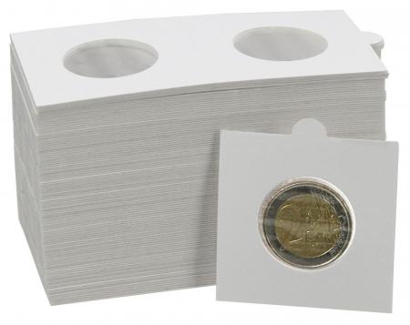 Cartonase autoadezive pentru monede de 27,5 mm - 25 buc-7828 [0]