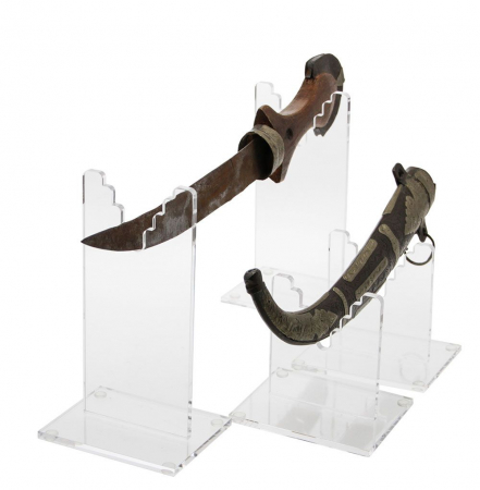 Suport acrilic pentru arme de colectie, pumnale, sabii, iatagan - 70 x 80 mm-5304 [2]