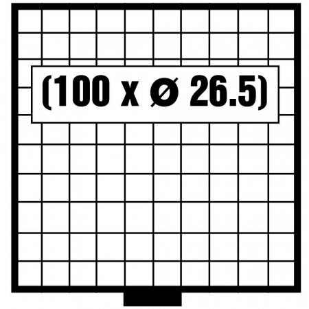 Tava monede, Maxi, 100 x 26,5 mm-6610 [0]