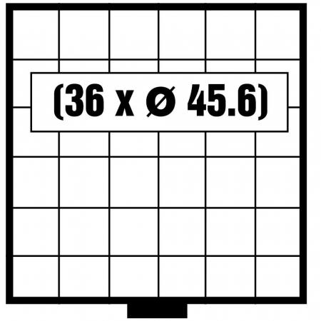 Tava monede, Maxi, 36 x 45,6 mm-6606 [0]