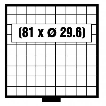 Tava monede, Maxi, 81 x 29,6 mm-6609 [0]