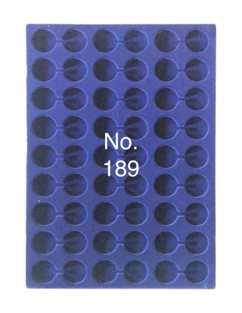 Tavi in catifea albastra pentru valize - 327 x 227 mm7