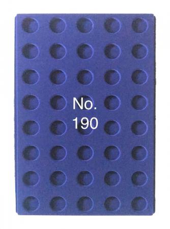 Tavi in catifea albastra pentru valize - 327 x 227 mm8
