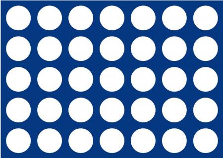 Tavi in catifea albastra pentru valize - 327 x 227 mm11