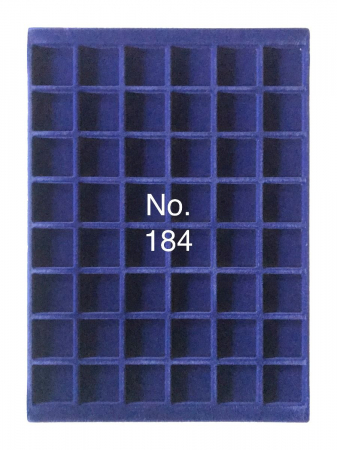 Tavi in catifea albastra pentru valize - 327 x 227 mm3