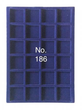 Tavi in catifea albastra pentru valize - 327 x 227 mm5