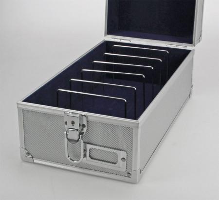 Valiza aluminiu cu maner 170x135x335 mm [2]