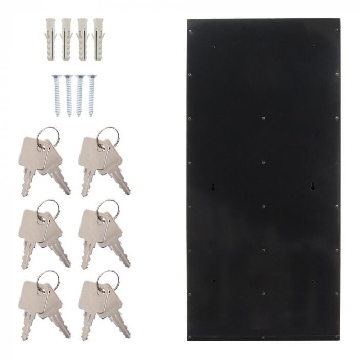 Cutie postala modulara Depot 6 inchidere cheie [5]