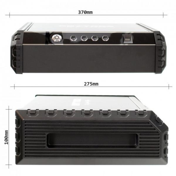 Caseta pistol Gun Master XL inchidere biometrica [7]