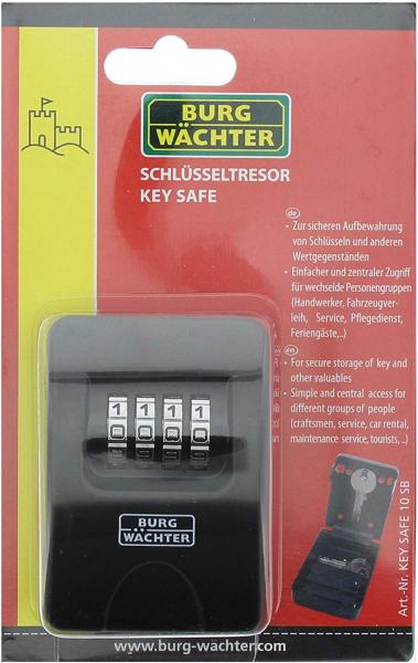 Cutie pentru chei Keysafe 10 SB inchidere cifru 6