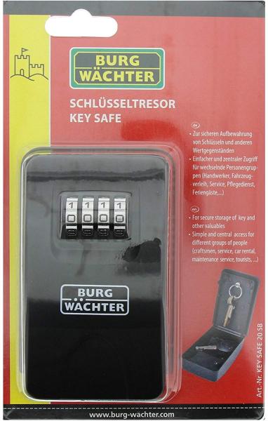 Cutie pentru chei Keysafe 20 SB inchidere cifru 5