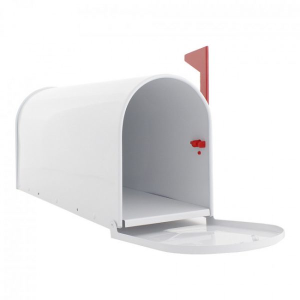 Cutie postala US Mail Box alba 2