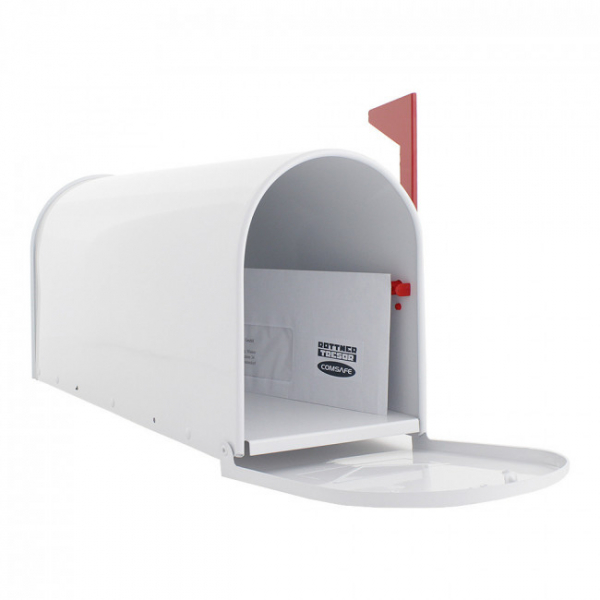 Cutie postala US Mail Box alba 3