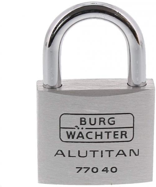 Lacat aluminiu Alutitan 770 40 SB inchidere cheie 1
