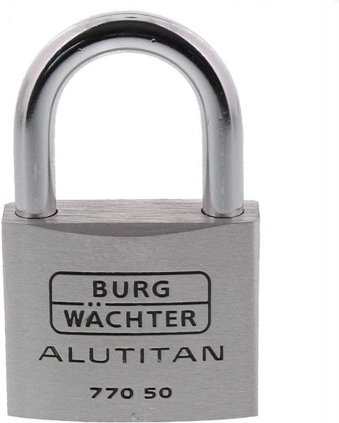 Lacat aluminiu Alutitan 770 50 SB inchidere cheie 1
