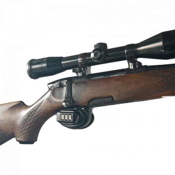 Piedica tragaci Gun Control inchidere cifru mecanic 4