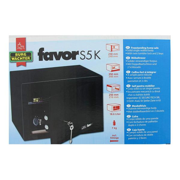 Seif Favor S5 K inchidere cheie 5