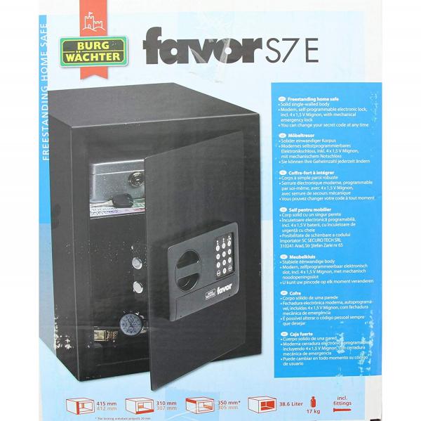 Seif Favor S7 E inchidere electronica 5