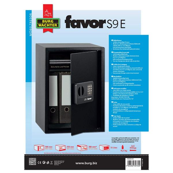 Seif Favor S9 E inchidere electronica 5